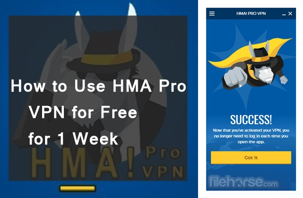 How to Use HMA Pro VPN for Free for 1 Week