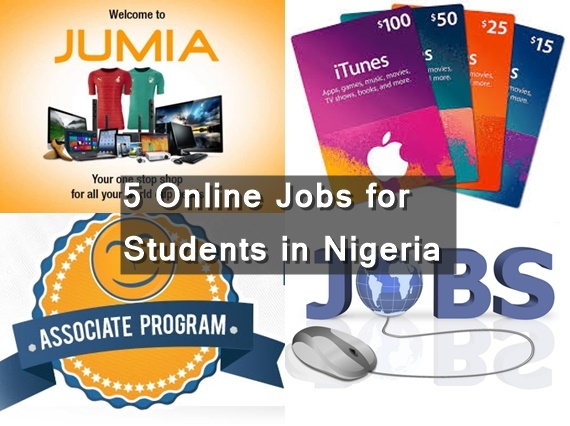 5 Online Jobs for Students in Nigeria