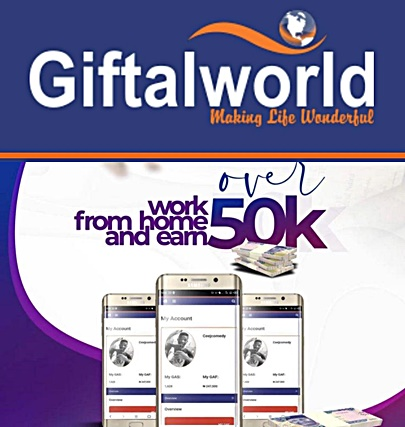 Giftalworld registeration